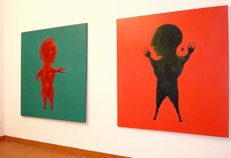 dipinti in mostra