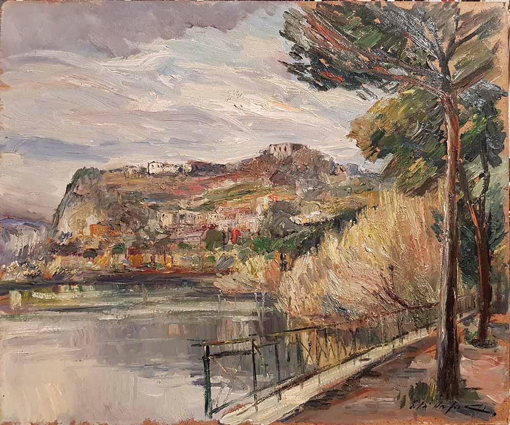 Edmondo Di Napoli, Pozzuoli Lago Lucrino