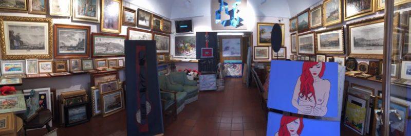 interno galleria marciano arte