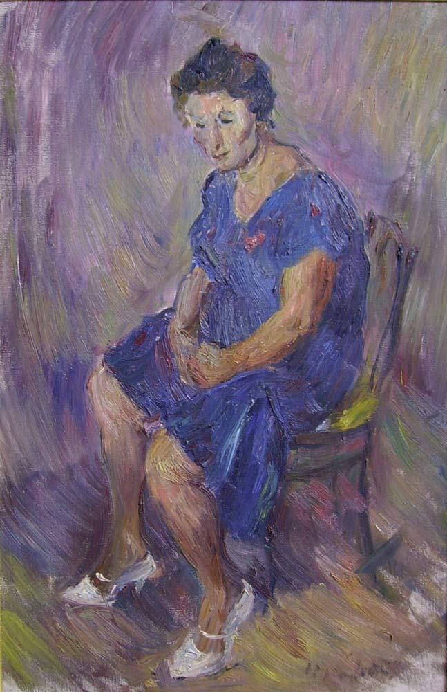 La moglie del pittore