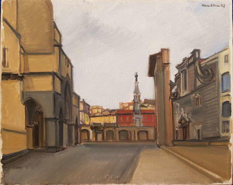 dipinto di Mario Vittorio