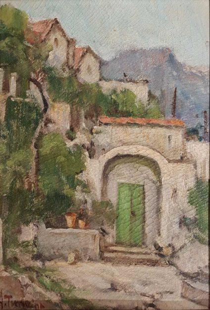 Dipinto di Bacio Terracina Arturo
