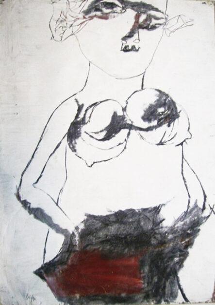 Dipinto di Raffaele Lippi pittore, titolo figura
