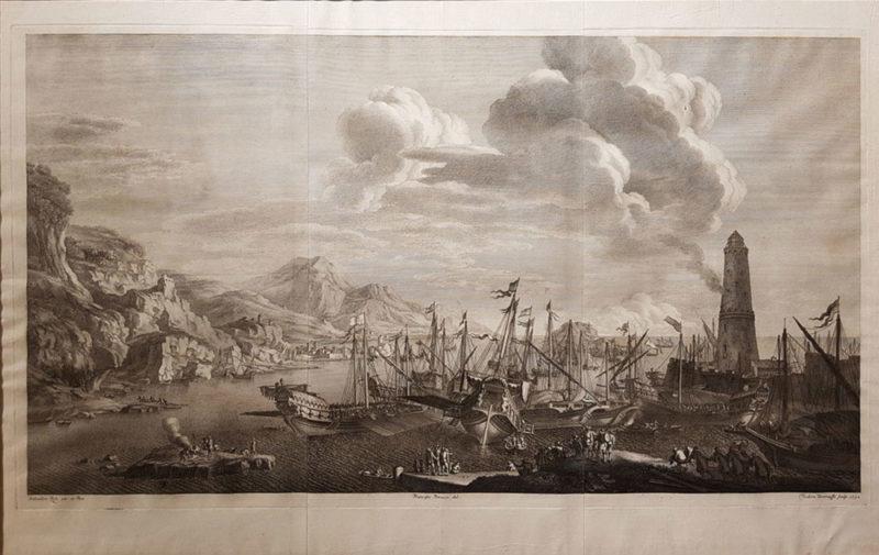 acquaforte del 1732 da Salvator Rosa