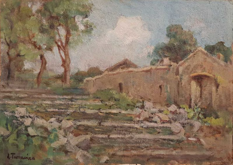 Dipinto di Arturo Bacio Terracina pittore