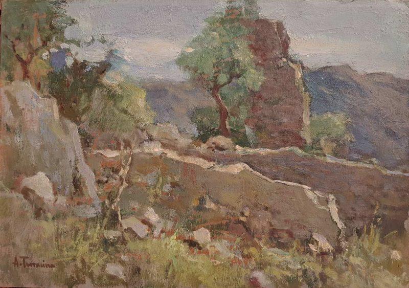 Dipinto di Arturo Bacio Terracina pittore.
