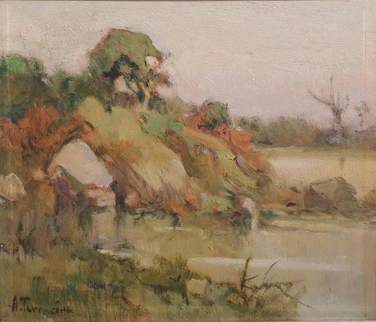 Dipinto di Arturo Bacio Terracina