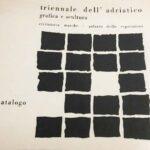 """copertina libro catalogo """"triennale dell'adriatico"""""""