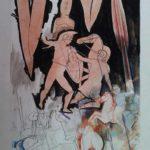 Dipinto del pittore Quintino Scolavino