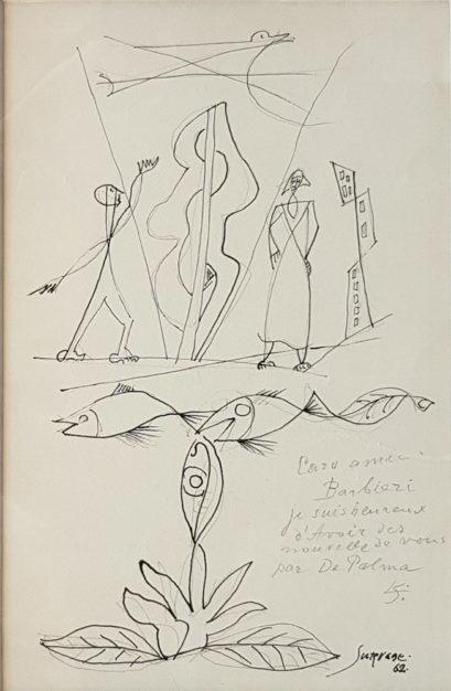 Disegno di Leopold Surgave del 1962