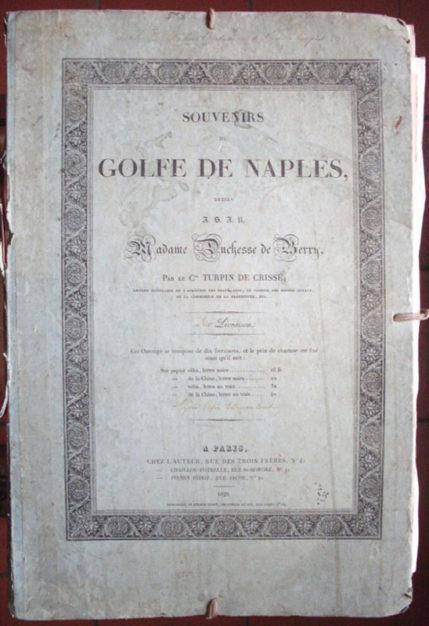 turpin copertina Souvenirs du Golfe de Naples