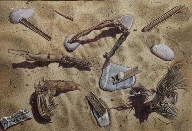 dipinto di vincenzo perna venuti dal mare
