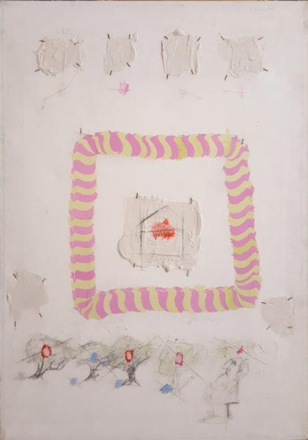 """Dipinto di Crescenzo Del Vecchio Berlingieri, titolo """"Casa"""""""