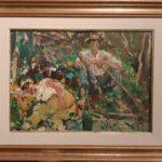 dipinto del pittore carlo verdecchia di 35x38,5 cm