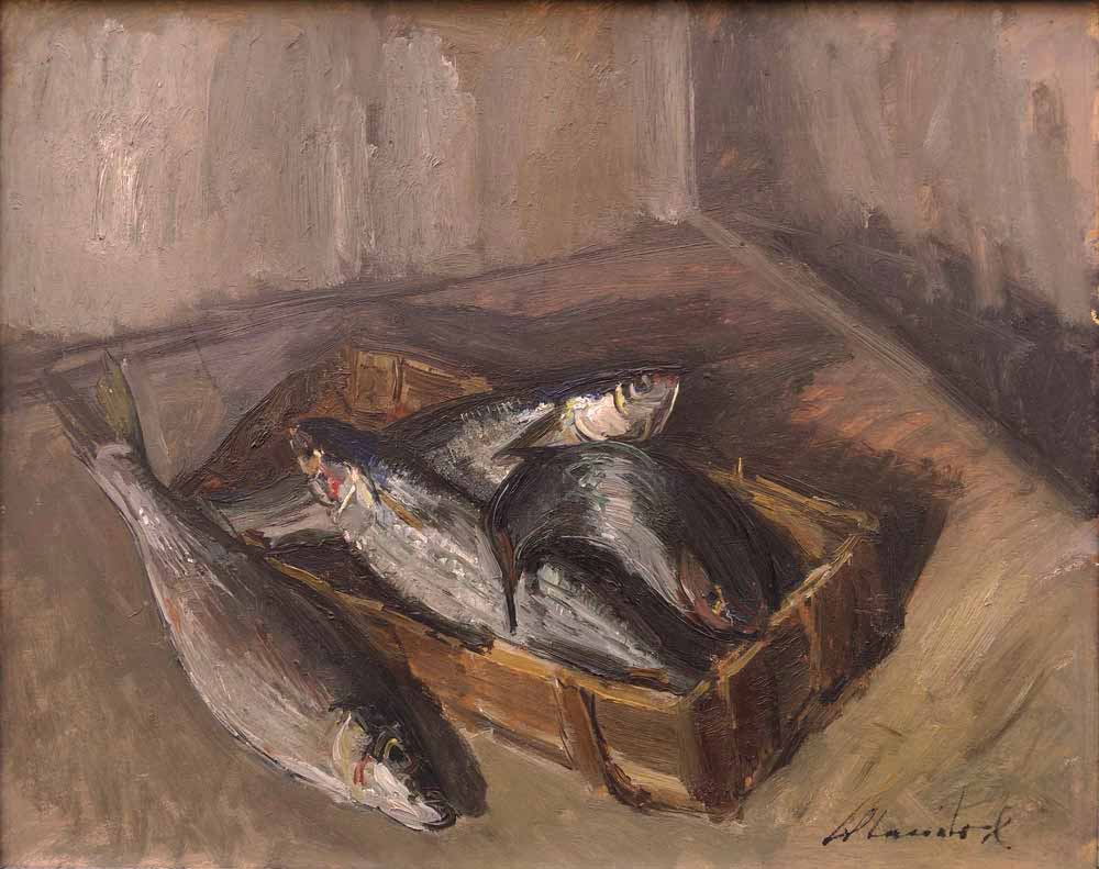 Errico Placido, Cassetta di pesci