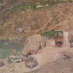 dipinto del pittore gennaro villani dal titolo capri