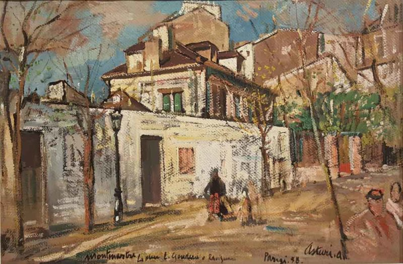 dipinto di antonio asturi parigi