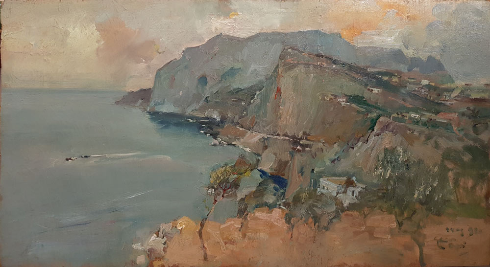 Giuseppe Casciaro, Capri