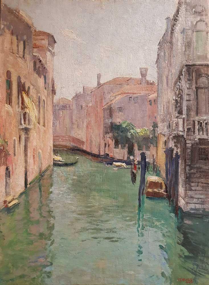 Venezia. Veduta da Ponte del Cristo