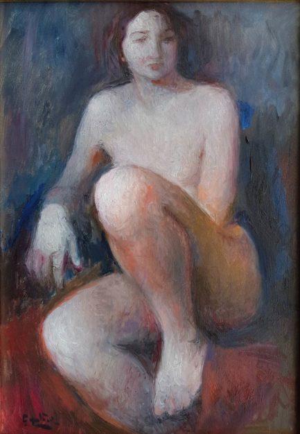dipinto di rubens capaldo nudo