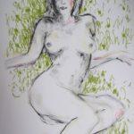 disegno di giovanni Ricciardi titolo nudo