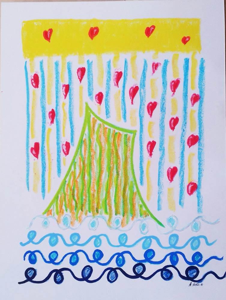 Alfonso Sacco, Vesuvio innamorato + Campo felicità (2 opere)