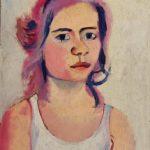 dipinto del pittore camillo catelli ritratto