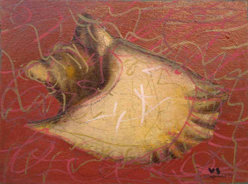 Dipinto di Vitagliano, Conchiglia
