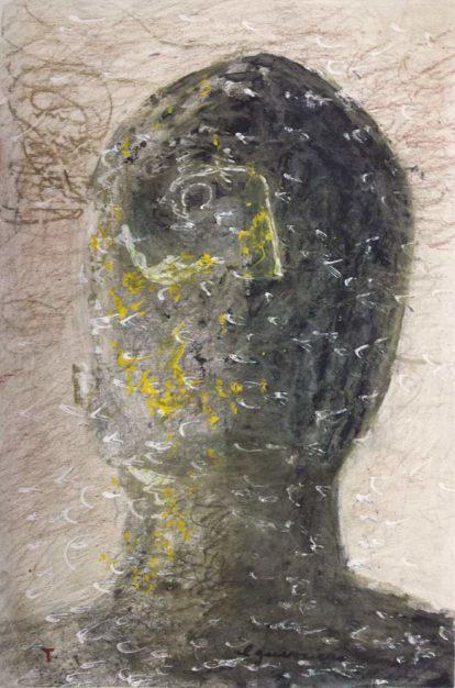 Dipinto di Vitagliano, Guerriero sannita