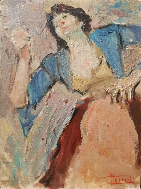 Dipinto di Carlo Striccoli