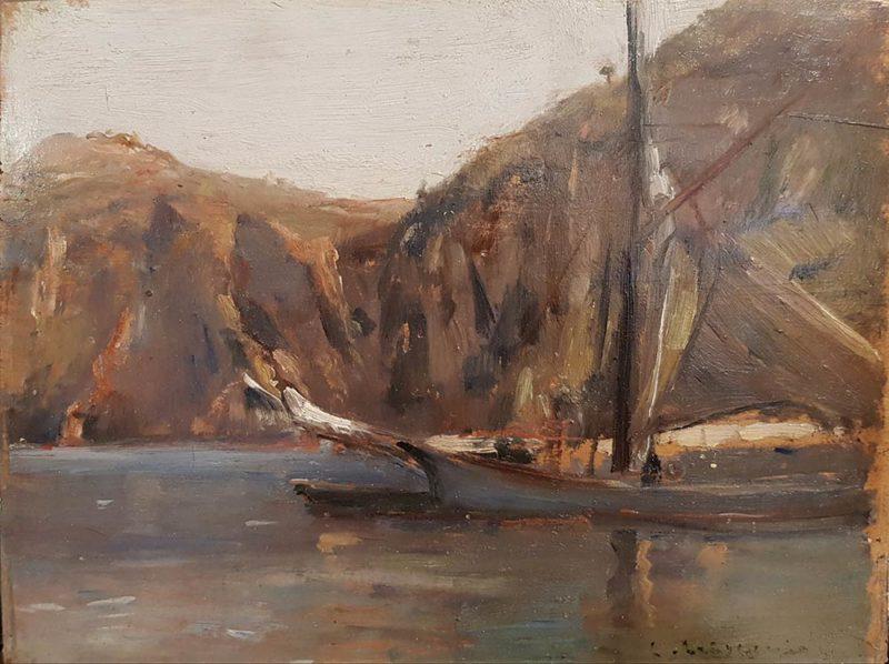 dipinto di Luigi Crisconio