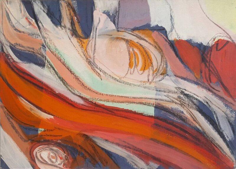 dipinto astratto di Robert Gisela Movimenti