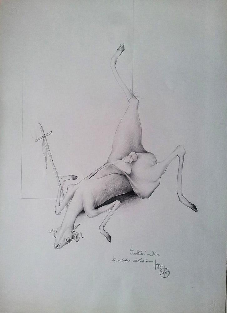 Umberto Piezzo, Sacrifici pasquali (4 disegni)